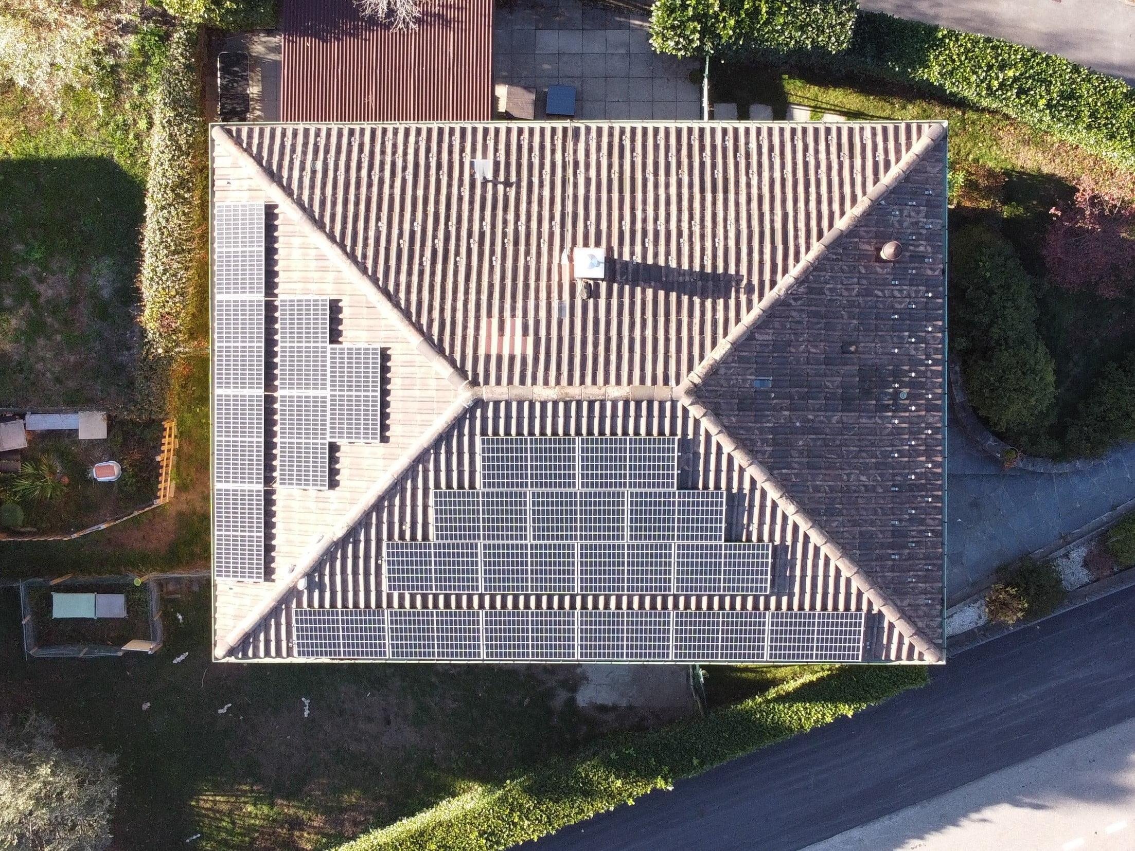 Impianto fotovoltaico a Mezzovico Vira
