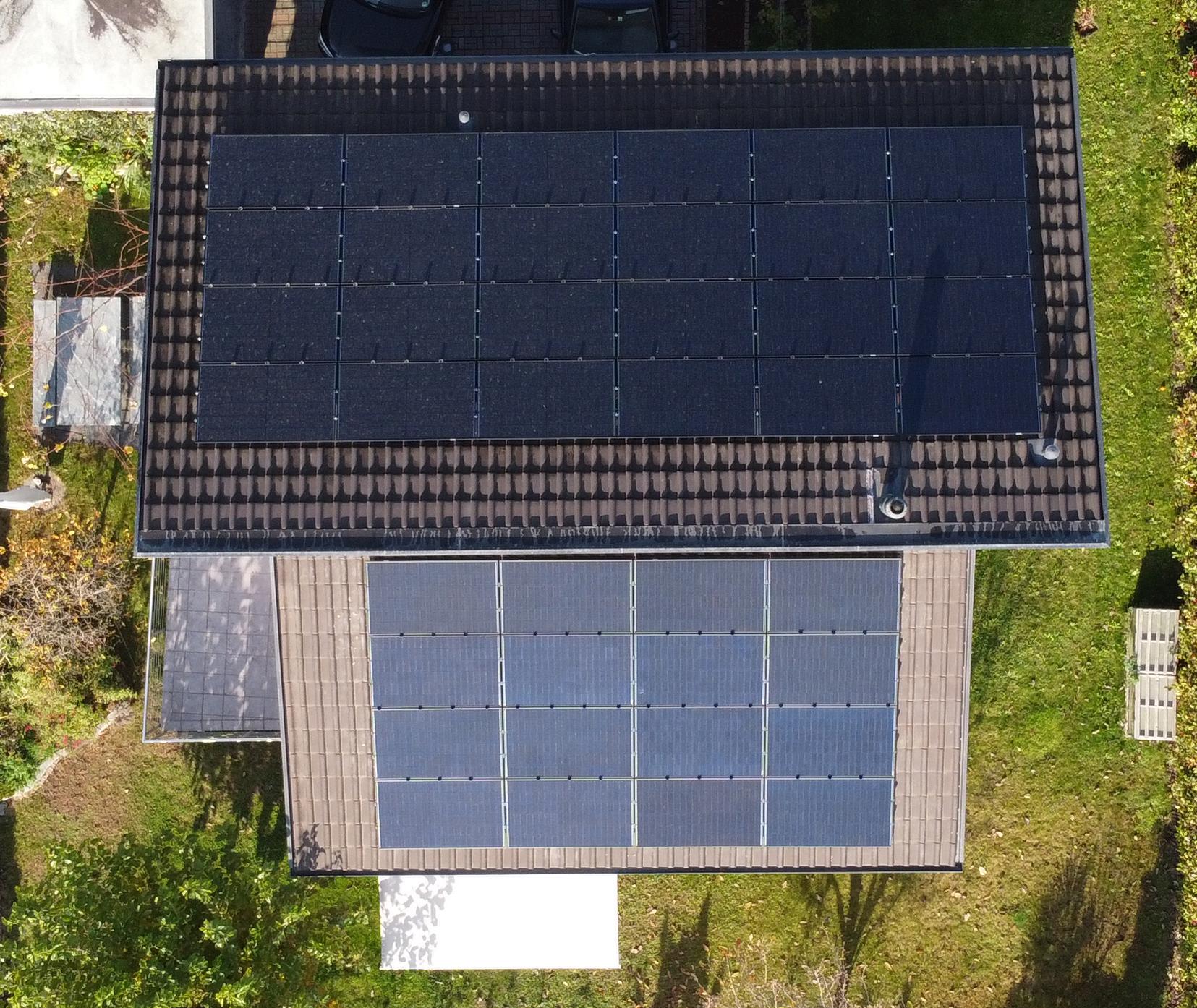 Impianto fotovoltaico installato nel Mendrisiotto