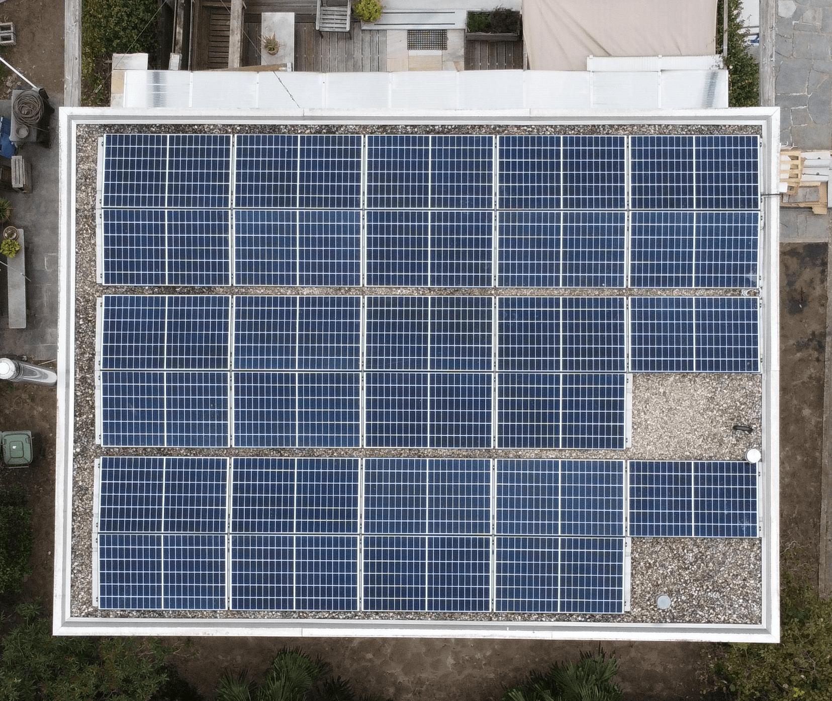 fotovoltaico tetto piano Bellinzona