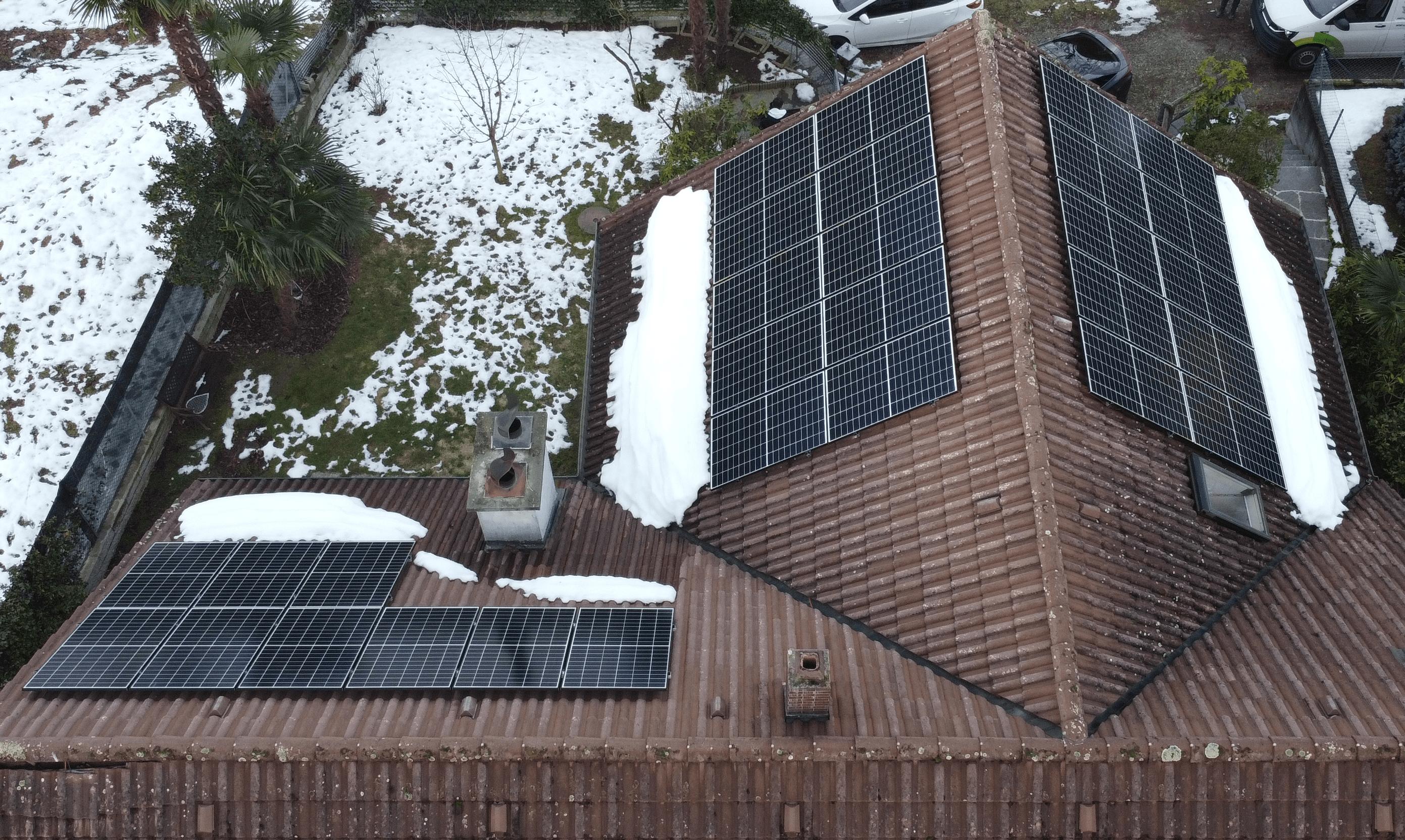 autoconsumo con batteria grazie ai pannelli solari
